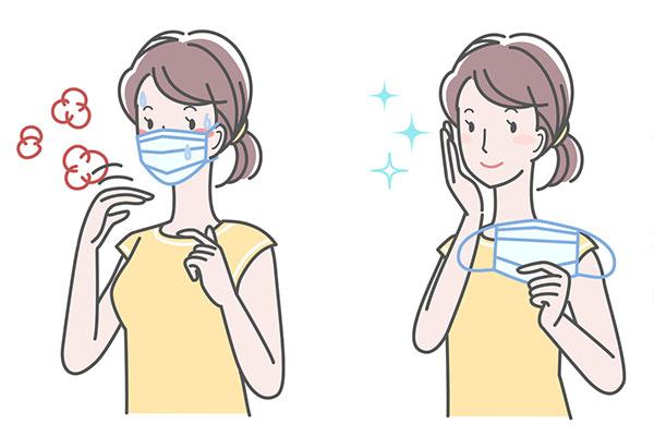 マスクによって肌荒れする理由