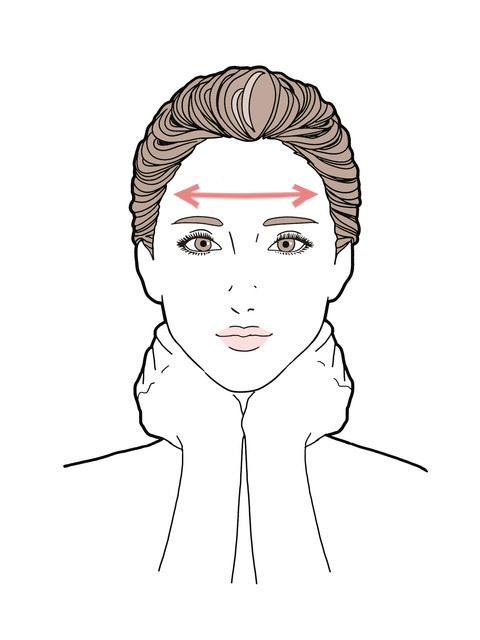 乾燥肌が改善する化粧水のつけ方:化粧水の塗り方