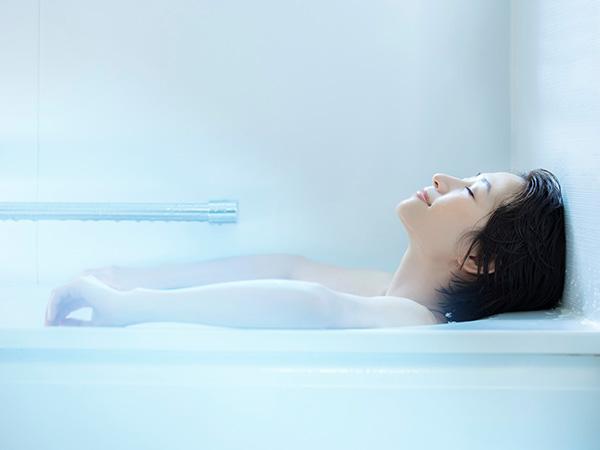 ストレッチ前のお風呂タイムが効果をアップ
