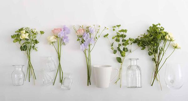 花の組み合わせを考える