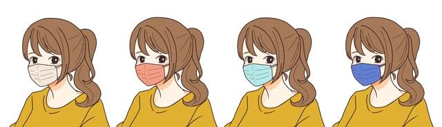 【スプリングタイプ(イエベ春)】に似合うマスクの色