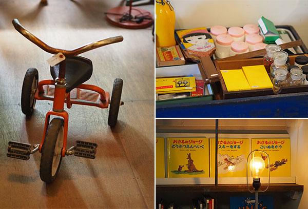 熊澤酒造の古道具販売懐かしい昭和のものがいっぱい。