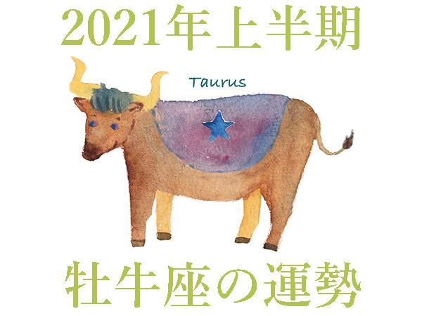 【2021年度上半期の占い】2021年1月~2021年6月★牡牛座の運勢