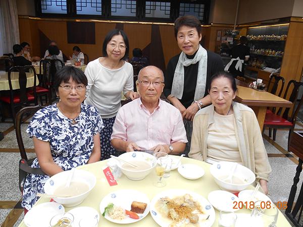 2018年8月6日  長崎在住のM氏と会食
