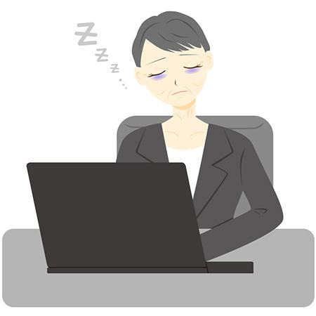 日本人女性は慢性的に睡眠不足!睡眠不足が続くと睡眠負債に