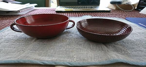 ご飯茶わんや塗りの汁椀