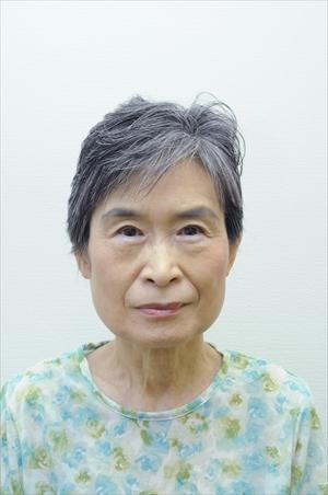 森紀子さん68歳 グレイヘア挑戦前の写真