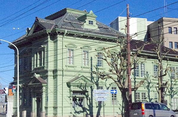 伝統的建築物の相馬株式会社社屋