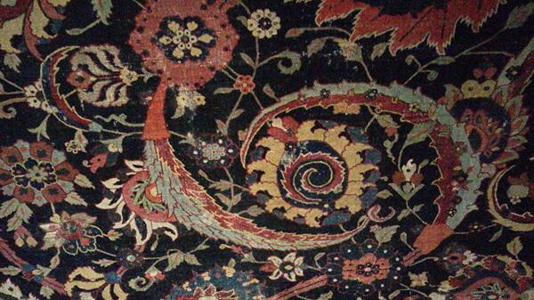 海外の美術館で見たカーペット