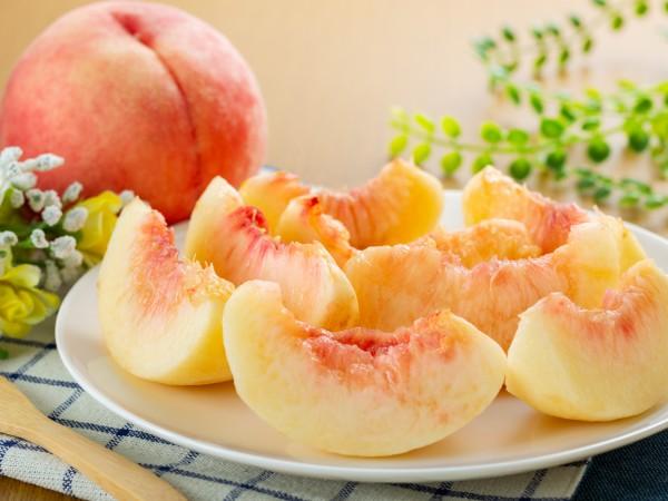 桃の切り方は?