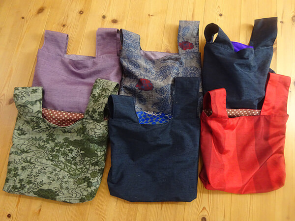 雑誌「ハルメク」掲載のバッグを作りました