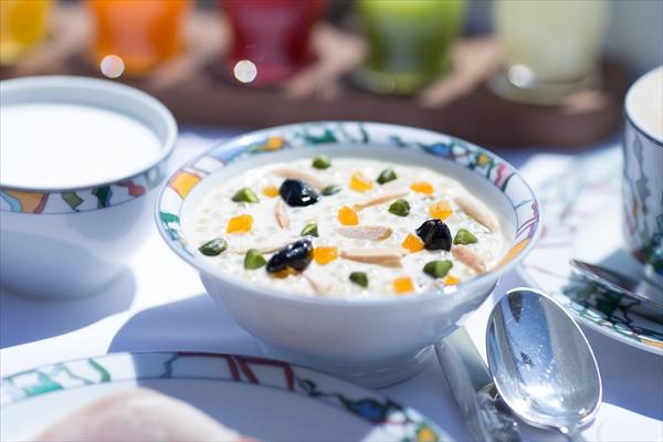 丹波の黒豆など素材の豊かさが体に染み入るタピオカ・オ・レ。毎朝のお供にしたい!