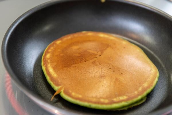 どら焼き風抹茶パンケーキ