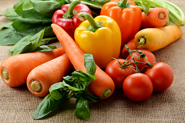 両黄色野菜は日焼けしにくい肌作りに役立つ