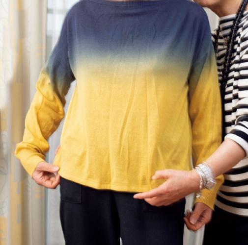 服を手放す基準:劣化度のチェックポイント(ニット)