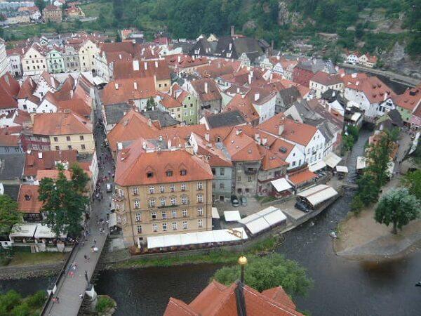 プラハから世界遺産の街、チェスキークルムロフへ