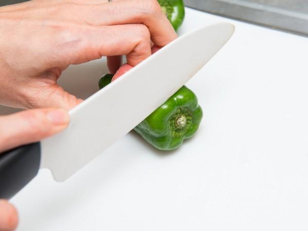 ピーマンの冷凍の仕方