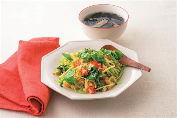 塩抜きダイエット2日目昼のレシピ