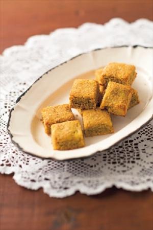サツママッシュとゴマの粉なしクッキー