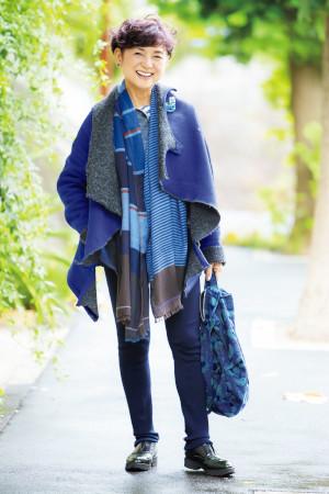 江波戸玲子さん:60歳ファッションのコツ