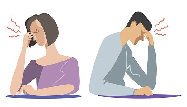 男性更年期外来を訪れる患者はストレスを抱えている