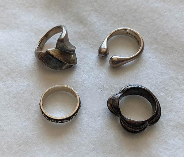 着けなくなった指輪たちを復活させたい