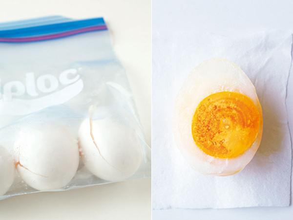 冷凍卵の作り方・使い方