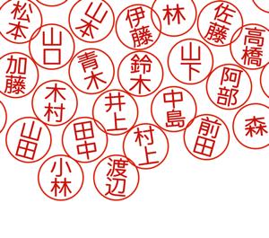 日本には苗字がいくつくらいあるの?