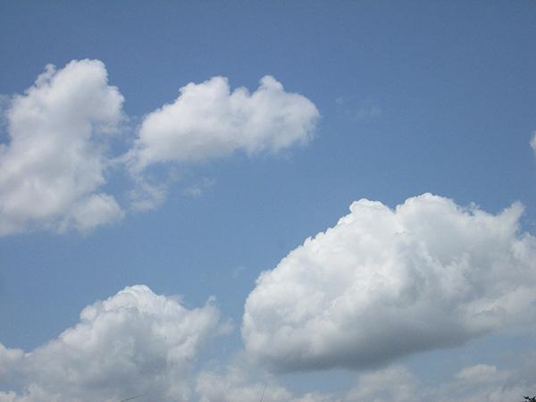 空を飛んでいる夢