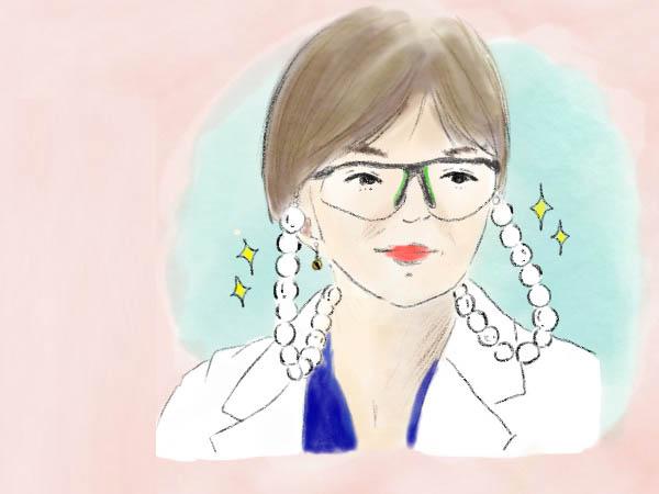 山口智子さんが老眼鏡で表現しているものとは