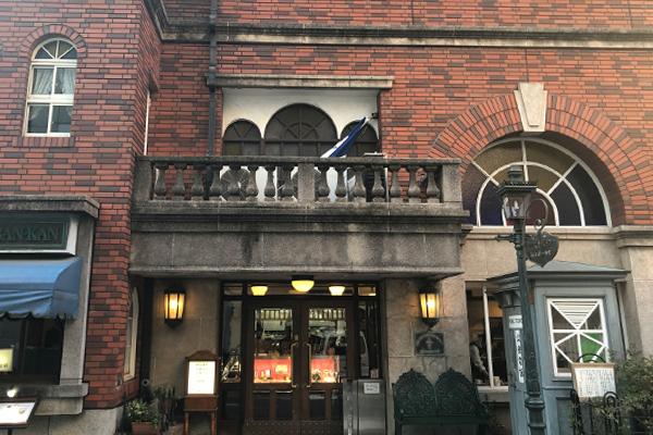 かつての商館を思わせる横浜らしい外観