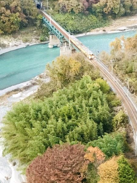 そらさんぽ天竜峡から飯田線をねらう