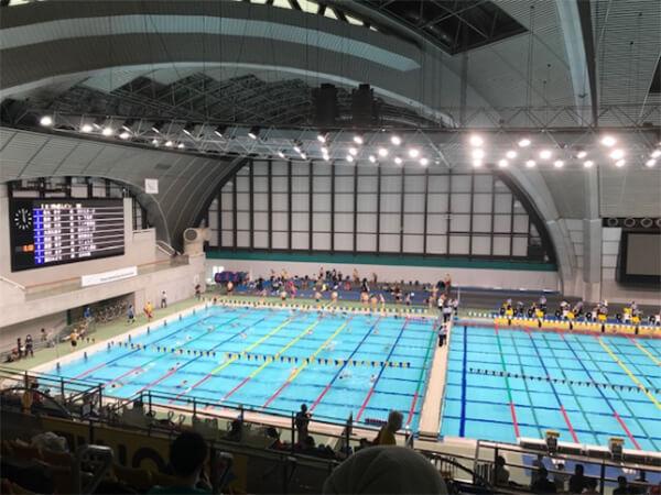 東京都マスターズ水泳大会に参加してきました!