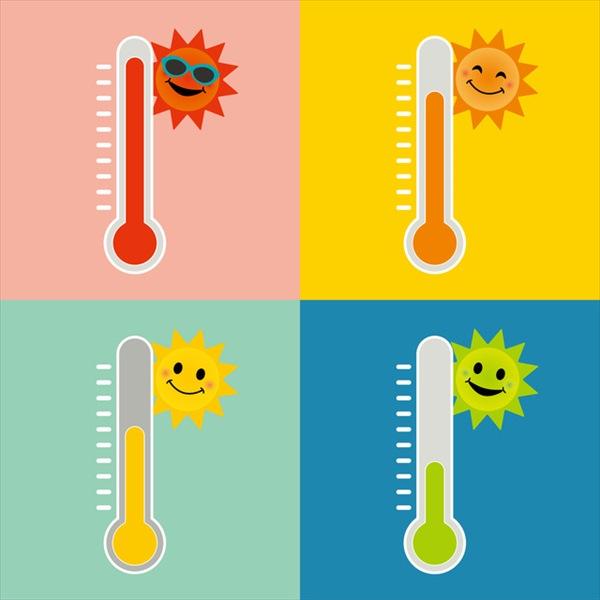 衣替えのタイミングは最高気温をチェック!