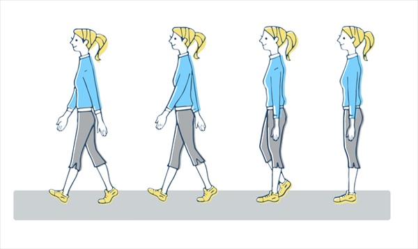 歩き方で足が太くなる、残念な習慣と対処法