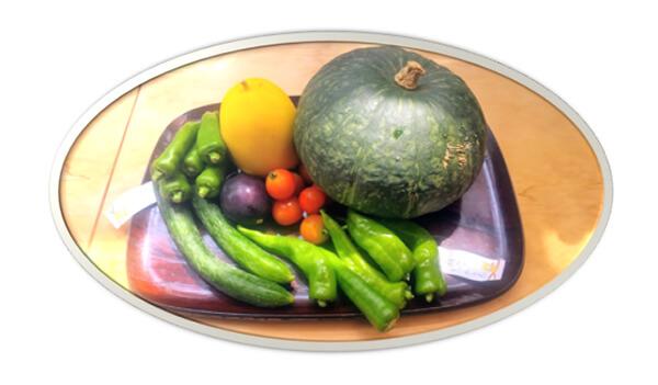 農業を営む友人から送られてきた野菜