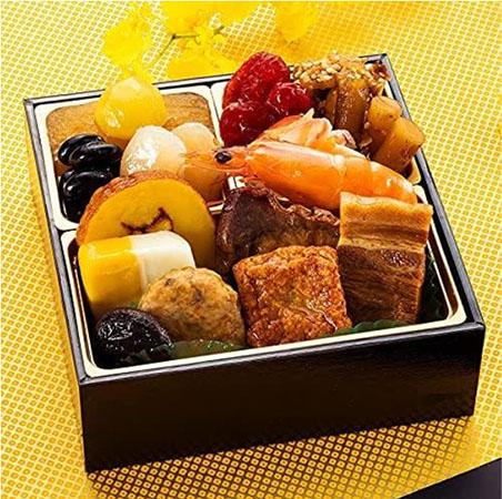 博多久松 「おためしおせち 全16品」500円(税込)