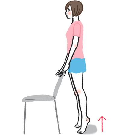 筋力不足に効果的な脚やせ法2:ストレッチ