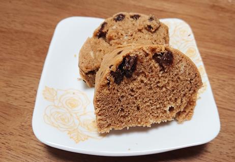 パッククッキングレシピ4:蒸しパン