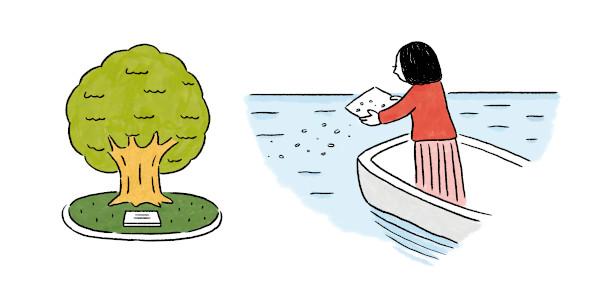 樹木葬や散骨