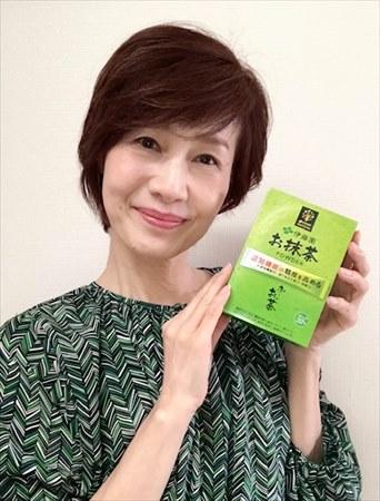 「お~いお茶 お抹茶」モニター:門田浩子さん