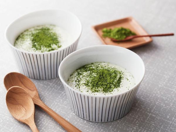 健康レシピ:抹茶ヨーグルト