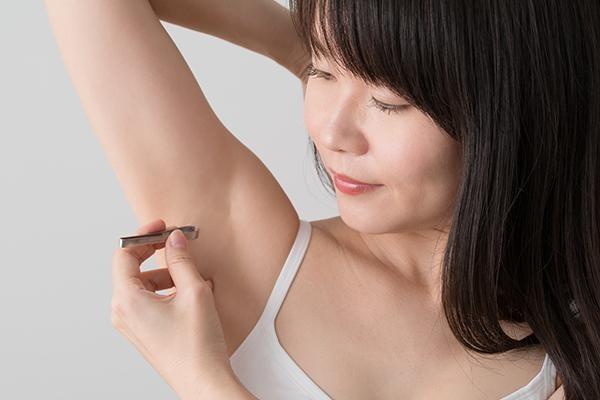 腋毛の処理