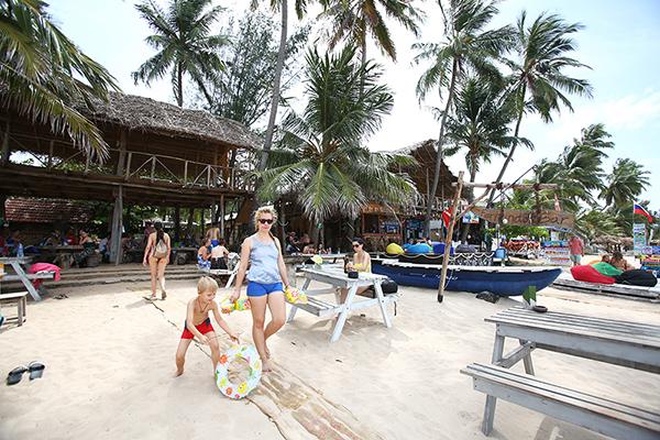家族みんなで楽しめるビーチリゾートもある