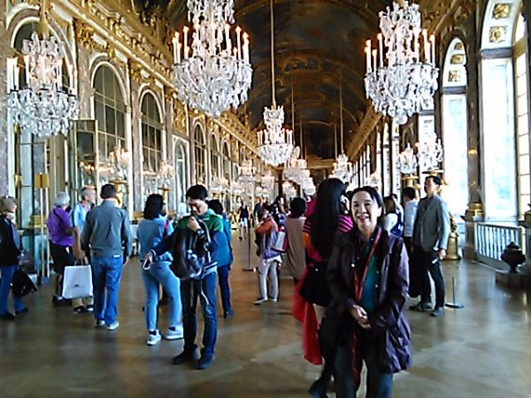 ベルサイユ宮殿へ