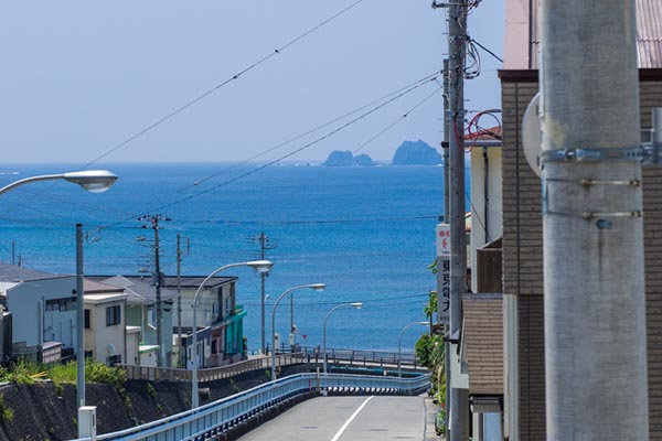 神津島の様子