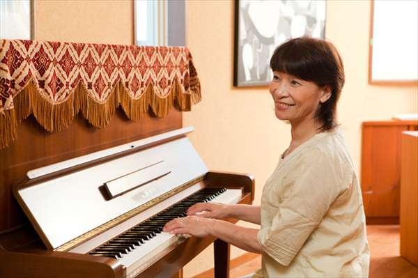 ピアノなど子どもの頃の習い事を趣味にする人も