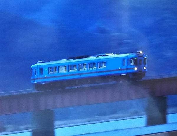 旅行番組内のローカル列車
