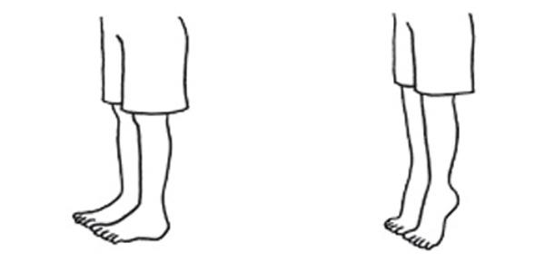 足のむくみをとる体操1:かかと上げ体操