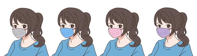 【サマータイプ(ブルべ夏)】に似合うマスクの色